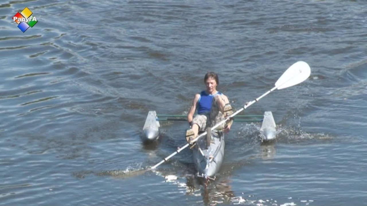 Изобретатель из Павловского Посада Юрий Жарков создал «Самолет на воде»