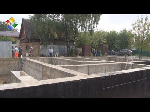 Олег Соковиков проинспектировал ход работ по строительству дома-музея им. Тихонова