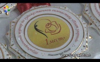 Турнир по художественной гимнастике «Плат узорный» прошел в Павловском Посаде