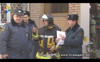 Пожарно-тактические учения прошли в Павловском Посаде