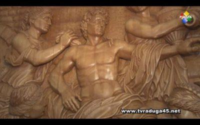 Сергей Комар создает уникальные картины из дерева
