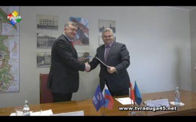 Олег Соковиков подписал соглашение о сотрудничестве с «Боевым братством»