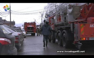 Пожарные учения прошли в кинотеатре «Павловский»