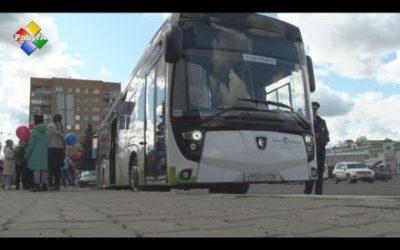 В Павловском Посаде новый электробус отправился в свой первый рейс