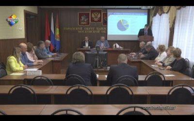 Олег Соковиков доложил депутатам о работе за 2017 год