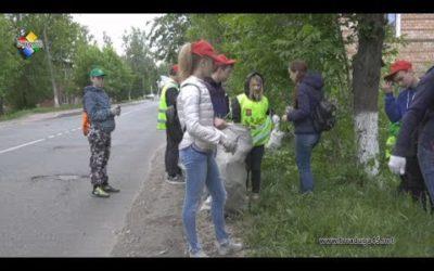 Трудовые бригады  наводят порядок на улицах Павловского Посада