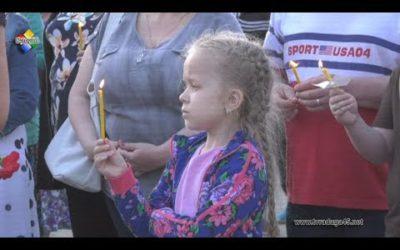 В день памяти и скорби павловопосадцы собрались в Парке Победы