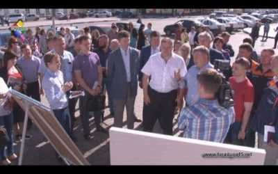 В Павловском Посаде открыли новые детские площадки, построенные по губернаторской программе
