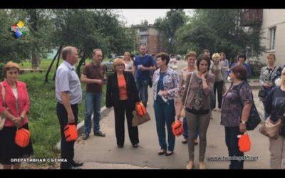 Работники торгового центра «Покровский» приняли участие в тренировочной эвакуации