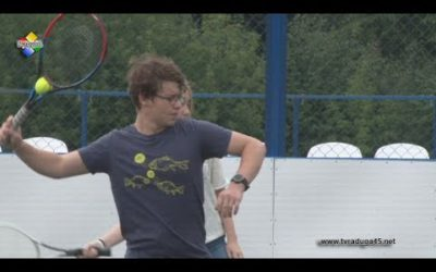 Секция большого тенниса начала работать на стадионе «Старопавловский»