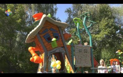 В Павловском Посаде открыли еще две новые детские площадки