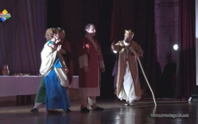 Во ДК «Павлово-Покровский» прошла премьера спектакля «Блудный сын»