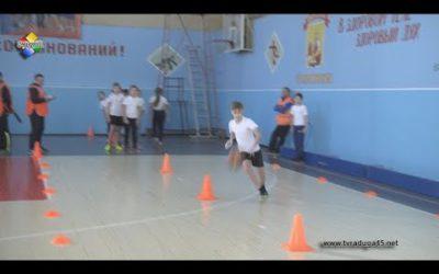 Павловопосадские школьники приняли участие в «Веселых стартах»