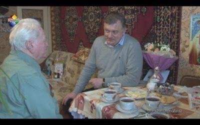 Старожил д. Кузнецы Василий Фёдорович Кукушкин отметил 90-летний юбилей