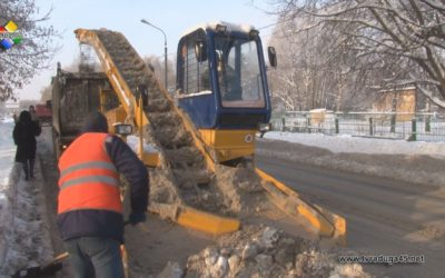 Дорожные службы Павловского Посада работают в усиленном режиме
