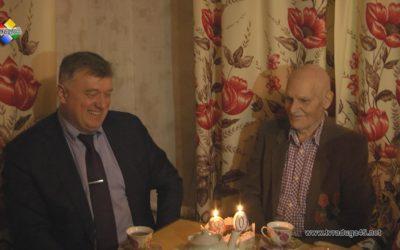 Глава городского округа Олег Соковиков поздравил с 90 летием Василия Голованова