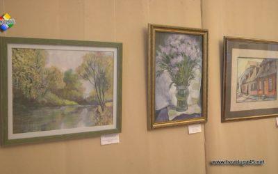В выставочном зале работает юбилейная выставка художника Ольги Мурынкиной