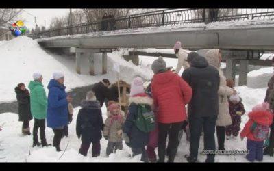 На реке Вохна открылась зимняя столовая для птиц