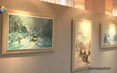 Художник Игорь Семенников представил «Старый Париж и женщины»