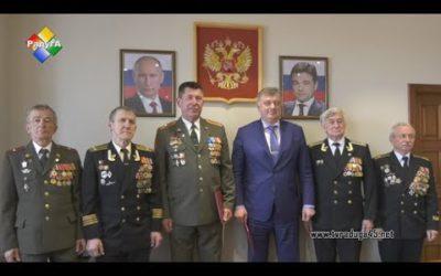 Глава городского округа подписал план мероприятий с общественной организацией ветеранов вооруженных сил