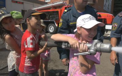 Школьникам рассказали о работе пожарных