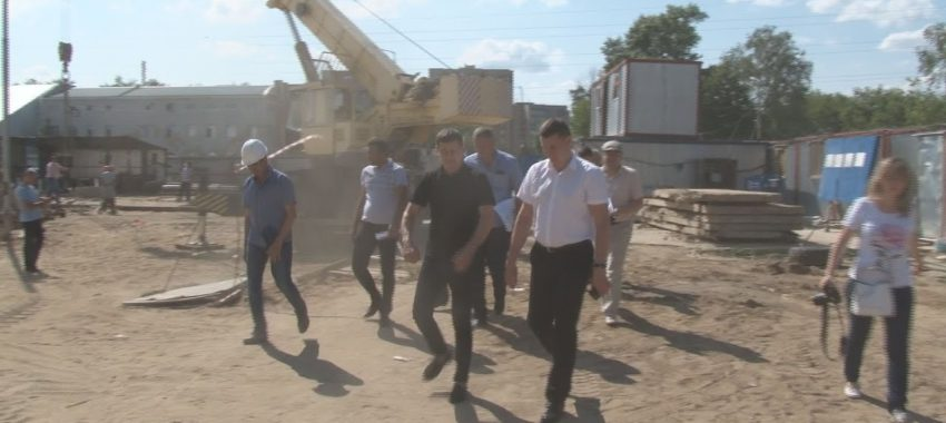 Строительство школы в Павловском Посаде близится к завершению