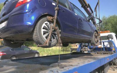 В Павловском Посаде шесть автомобилей были задержаны в счет долга за коммунальные услуги