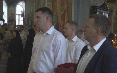 Праздничное богослужение прошло в Покровско-Васильевском монастыре