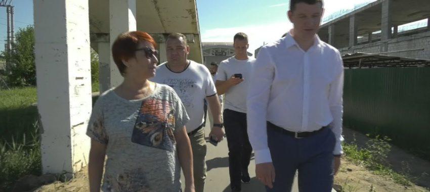 Содержание дворовых территорий и общественных пространств проверили в Павловском Посаде