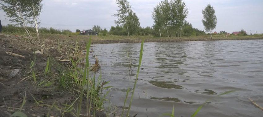Завершилась очистка водоема в деревне Евсеево